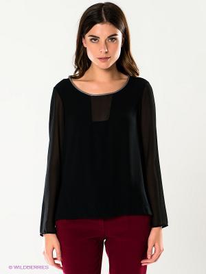 Блузка SILVIAN HEACH. Цвет: черный