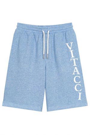 Шорты Vitacci. Цвет: голубой