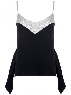 Panelled blouse Gloria Coelho. Цвет: чёрный