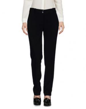 Повседневные брюки BLUKEY. Цвет: черный