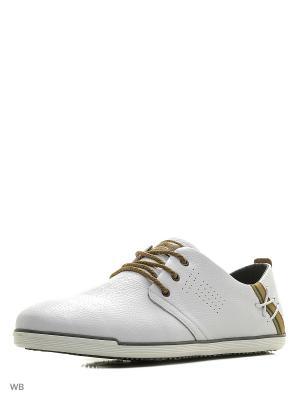 Ботинки Shoiberg. Цвет: белый
