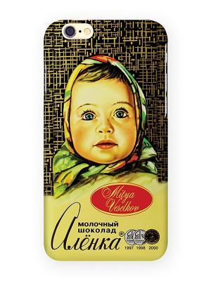 Чехол для IPhone 6 Шоколадка Алёнка Mitya Veselkov. Цвет: желтый, синий, красный