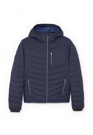 Куртка утепленная Mango Man. Цвет: синий