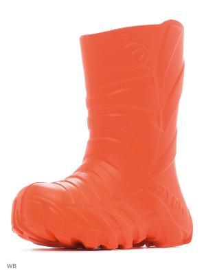 Резиновые сапоги Каури. Цвет: коралловый