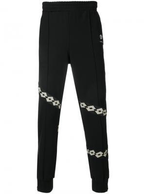 Спортивные брюки Papio  x Lotto Damir Doma. Цвет: чёрный