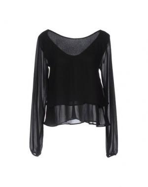 Блузка RISSKIO. Цвет: черный