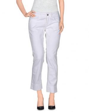 Повседневные брюки QCQC. Цвет: белый