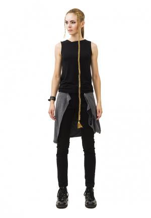 Комплект брюки и футболка Pavel Yerokin. Цвет: разноцветный