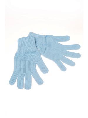 Перчатки Shapkoff. Цвет: голубой