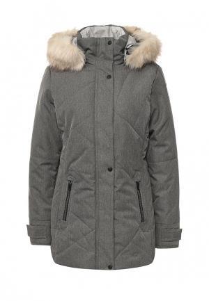 Куртка утепленная Torstai. Цвет: серый