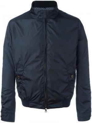 Куртка-бомбер на молнии Sealup. Цвет: синий