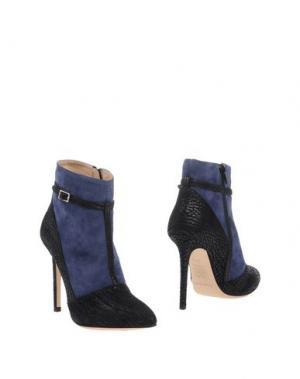 Полусапоги и высокие ботинки ERNESTO ESPOSITO. Цвет: синий