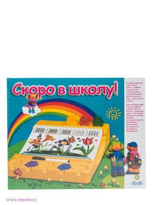 Скоро в школу KODKOD. Цвет: синий, зеленый, фиолетовый, красный, желтый