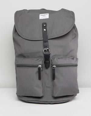 Sandqvist Серый рюкзак Roald. Цвет: серый