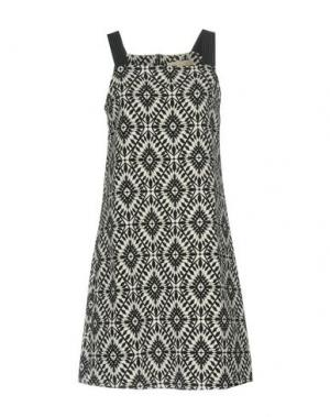Короткое платье LA FEE MARABOUTEE. Цвет: белый