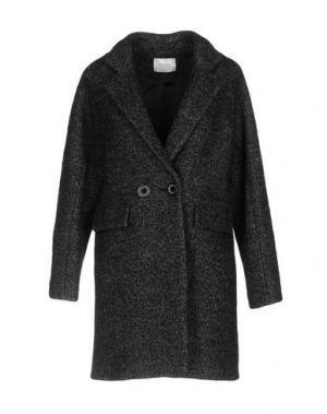 Пальто ANONYME DESIGNERS. Цвет: стальной серый