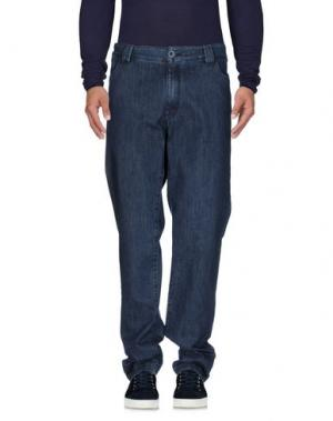 Джинсовые брюки HARRY & SONS. Цвет: синий