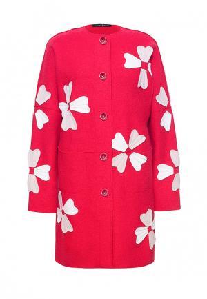 Пальто Lucky Move. Цвет: красный