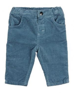 Повседневные брюки MIRTILLO. Цвет: грифельно-синий