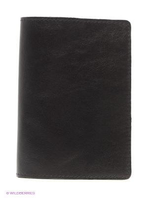 Обложка для паспорта A.Valentino. Цвет: черный, антрацитовый