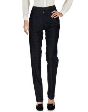 Повседневные брюки FRANKIE MORELLO. Цвет: темно-синий