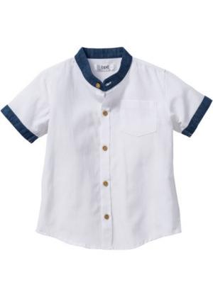 Рубашка, Размеры  80/86-128/134 (белый) bonprix. Цвет: белый