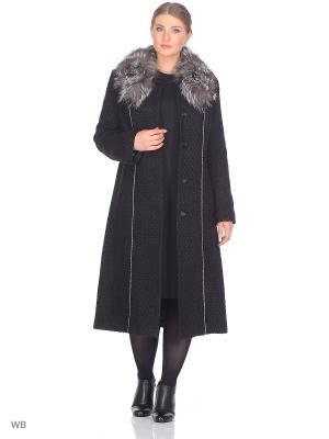 Пальто Fart Favorita. Цвет: черный