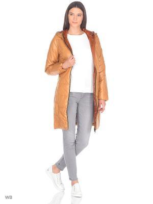 Пальто CATTAIL WILLOW. Цвет: персиковый