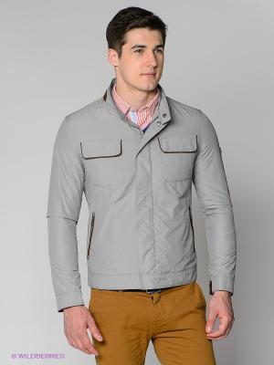 Куртка Forecast. Цвет: серый, коричневый