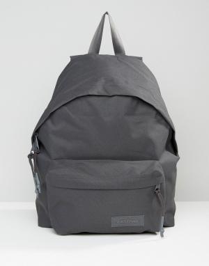 Eastpak Темно-серый рюкзак с уплотнением PakR. Цвет: серый