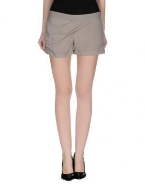 Повседневные шорты HANITA. Цвет: серый