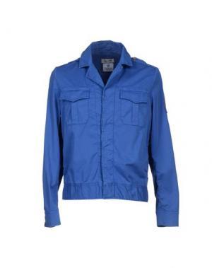 Куртка COOPERATIVA PESCATORI POSILLIPO. Цвет: лазурный