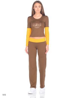 Спортивный костюм Bars. Цвет: светло-коричневый