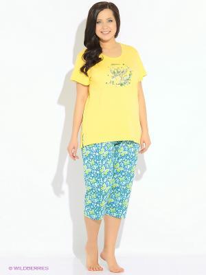 Комплект одежды Vienetta Secret. Цвет: желтый