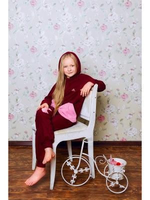 Комплект ЛисФлис. Цвет: бордовый, розовый
