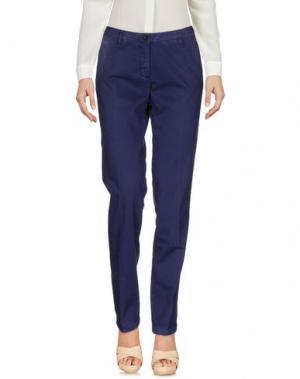 Повседневные брюки 19.70 NINETEEN SEVENTY. Цвет: темно-фиолетовый