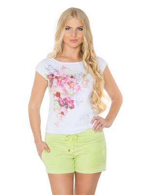 Шорты женские BeGood. Цвет: светло-зеленый, салатовый