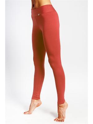 Леггинсы yogadress. Цвет: розовый