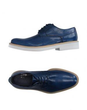 Обувь на шнурках GOLD BROTHERS. Цвет: синий