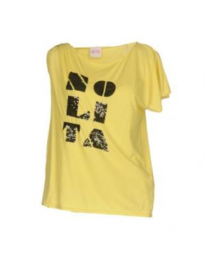 Футболка NOLITA. Цвет: желтый