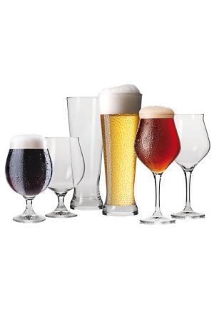Набор для пива, 6 шт KROSNO. Цвет: мультицвет