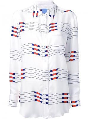 Рубашка Jockey Macgraw. Цвет: белый
