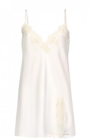 Ночная сорочка La Perla. Цвет: кремовый