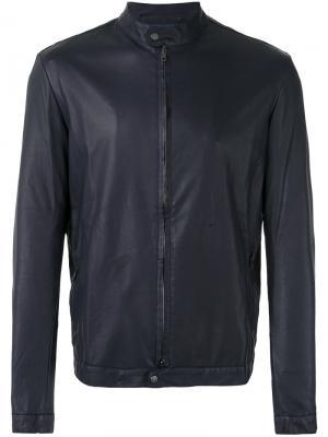 Байкерская куртка Ploung Salvatore Santoro. Цвет: синий