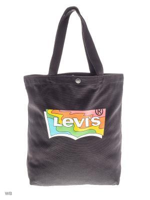 Сумка Levi's®. Цвет: черный