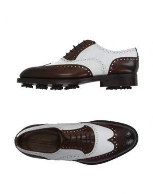 Обувь на шнурках EDWARD GREEN. Цвет: белый