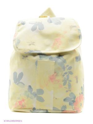 Рюкзак Баффи CLABIN. Цвет: желтый, зеленый