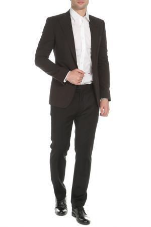 Пиджак DOLCE & GABBANA. Цвет: темно-коричневый