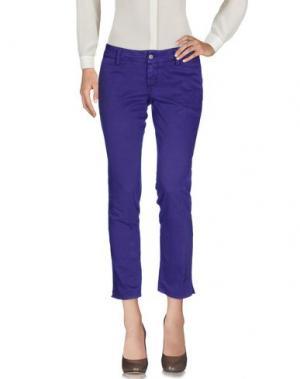 Повседневные брюки 2W2M. Цвет: фиолетовый