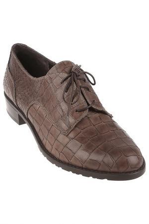 Ботинки Stuart Weitzman. Цвет: коричневый